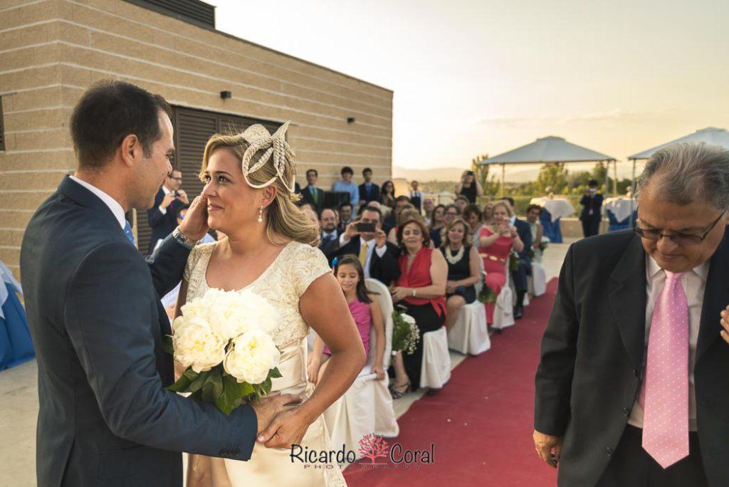 Un boda llena de emoción