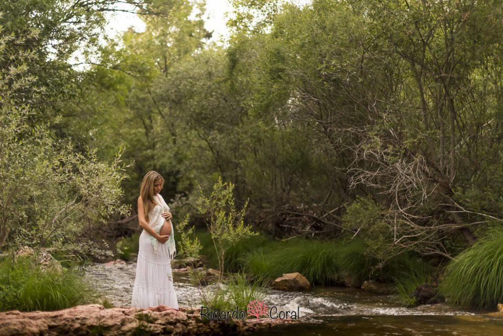 Sesión de embarazo en Rascafría