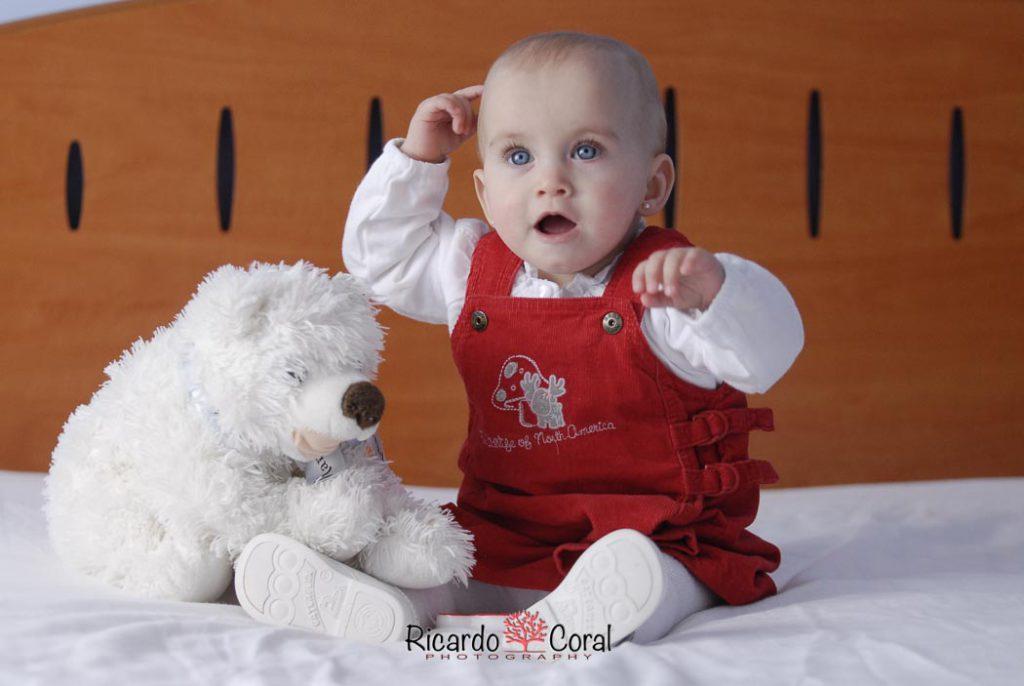 Aroa cumple 9 meses