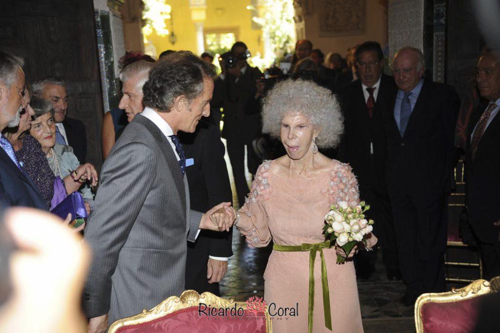 Boda DuBoda Duquesa de Alba y Alfonso Diezquesa de Alba y Alfonso Diez