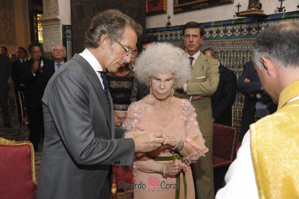 Boda Duquesa de Alba y Alfonso Diez