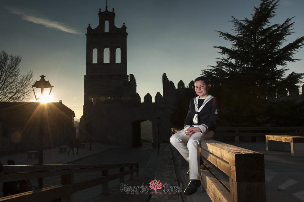Primera Comunion en la muralla de Ávila