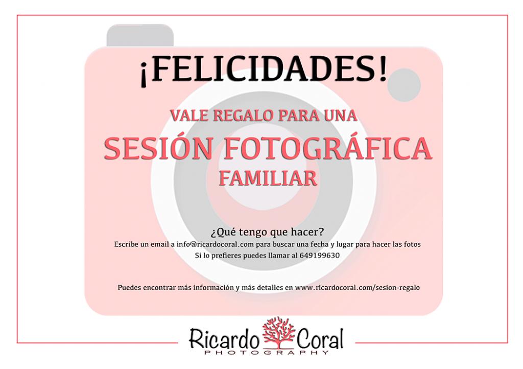 Regalo sesion fotografica Ricardo Coral