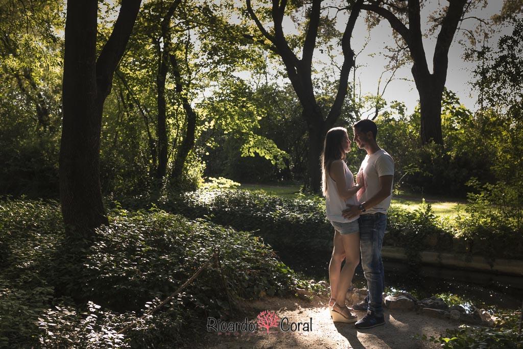 Preboda en el Parque del Capricho por Ricardo Coral