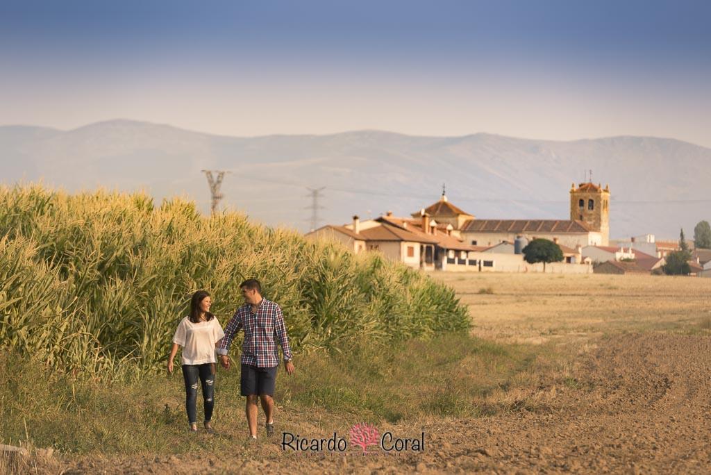 Preboda por campos de Segovia por Ricardo Coral