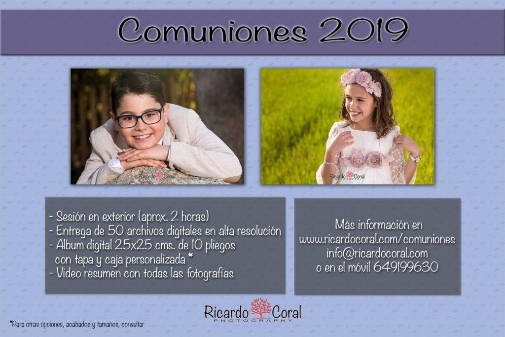 Fotografia comunion Ricardo Coral