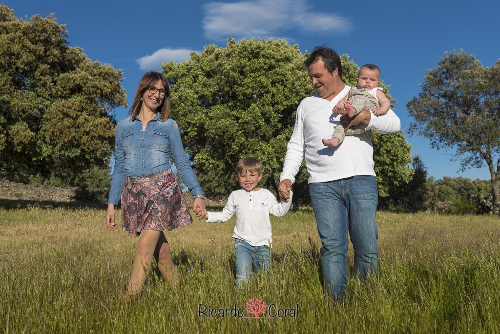 Fotografia familia por Ricardo Coral Photography