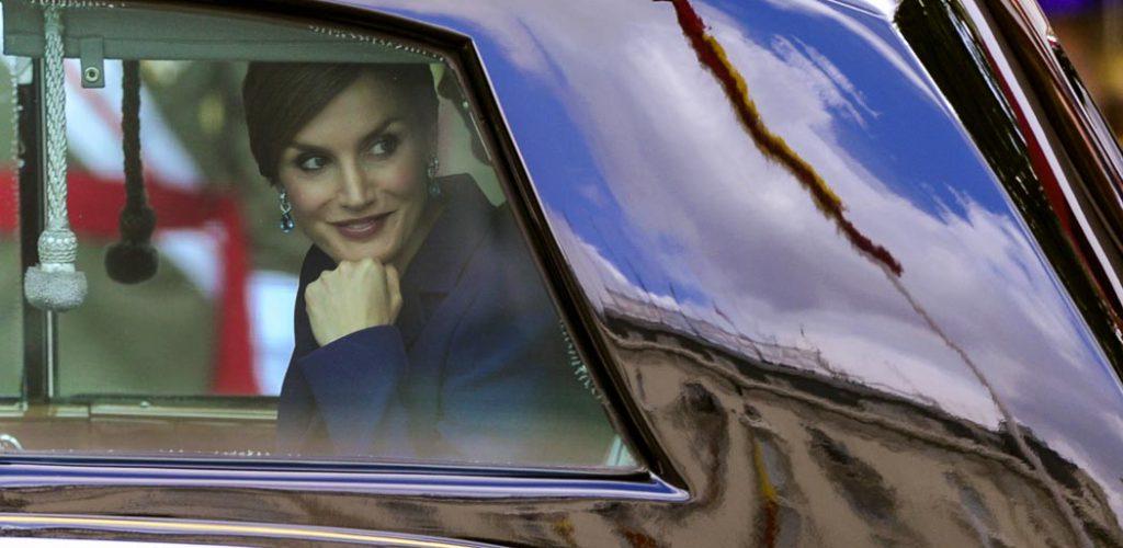 Retrato de la Reina Letizia de España