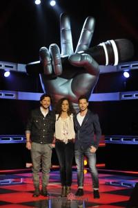 Manuel Carrasco, Rosario Flores y David Bisbal