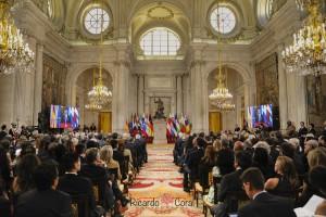 Acto en el Palacio Real